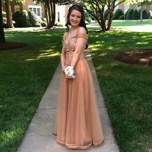 Jbydress Custom Made A Line Prom Dress
